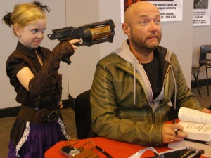 Many fans wish they could hold Dan Abnett hostage and force him to write.