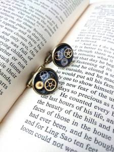 I'm already wearing a pair of these steampunk cufflinks to 'test them'