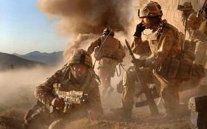 British infantry serving in Afghanistan - MoD/Crown Copyright/PA Wire